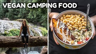 What I Ate While Camping! (Vegan)