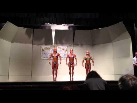 2012 NPC Midwest Figure Competition | Figure Posing | Female Bodybuilding