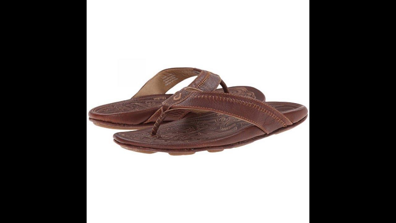 7dbab84b0086 Olukai Hiapo Teak   Teak Sandals for Men  TheInsoleStore.com - YouTube