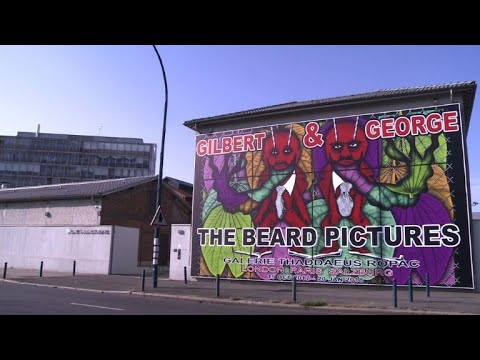 Beards inspire new show by art duo Gilbert & George