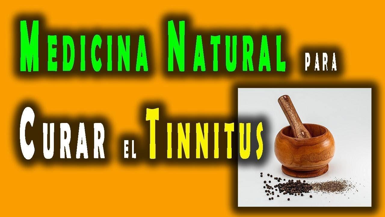 Reducir el tinnitus de forma natural
