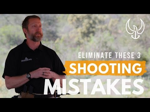 Do You Shoot Low and Left with a Pistol? | Navy SEAL Explains 3 Pistol Shooting Mistakes