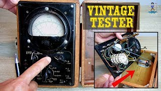Vintage Late 1940's Analog Voltage & Ohm Meter