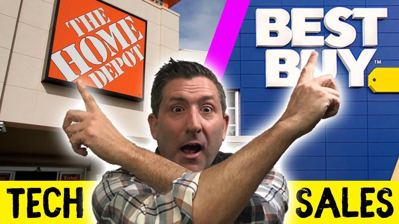 Four Best Tech Deals At Home Depot's Cyber Monday 2019 Sale