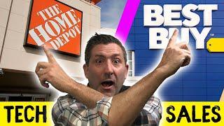 Best Tech Deals & Sales BLACK FRIDAY/CYBER MONDAY 2019 | Home Depot or Best Buy