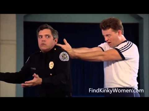 Police Academy 1984 drop that stereo before i blow your nuts off