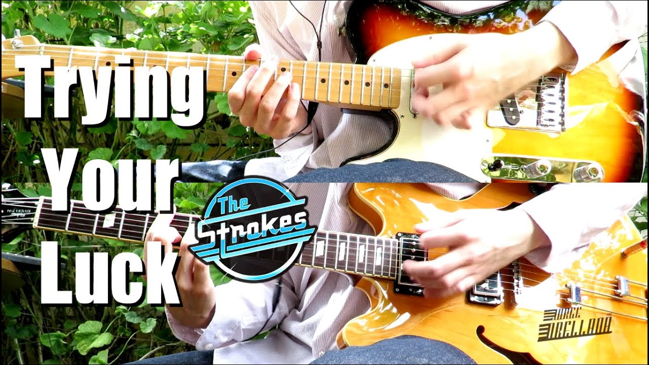 how to play the stroke on guitar
