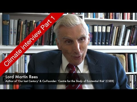 Lord Martin Rees Interview Part 1