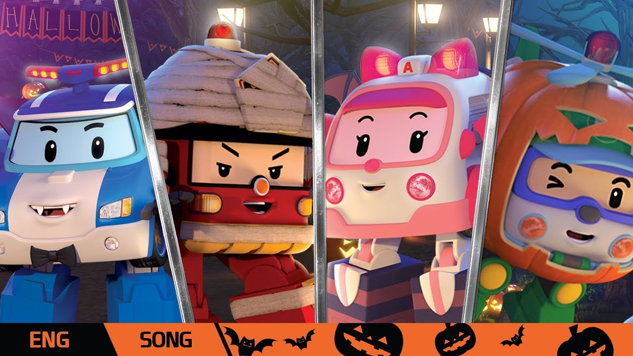 Download 🎃Halloween🎃│🎵Collection of  Halloween Song🎵 | Nursery Rhymes | Robocar POLI TV