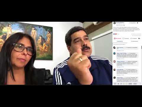 Maduro en Facebook Live a horas de entrar en vigencia la Reconversión Monetaria