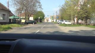Driving near Kikinda Serbia