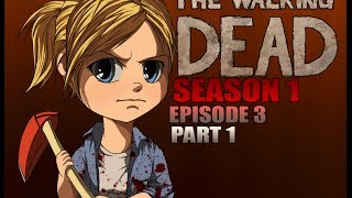 The Walking Dead Season 1 Walkthrough Episode 3 Part 1 - Someone Stealing The Supplies