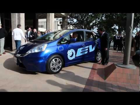 Honda Fit EV Delivery to Google, Stanford University and City of Torrance