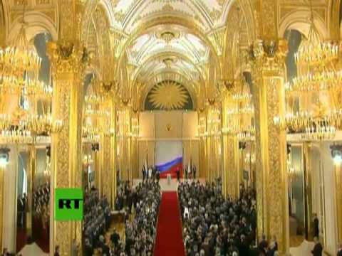 LIVE: Vladimir Putin's Presidential Inauguration Ceremony