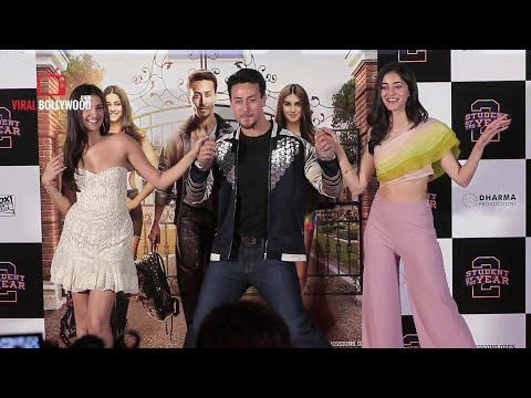 Student Of The Year 2 Official Trailer Launch| Tiger Shroff | Tara | Ananya | Punit Malhotra