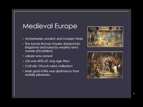 Middle Ages History of Leisure