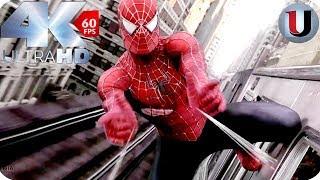 Spider Man Vs Dr Octopus Train Fight Scene - Spider Man 2 2004 MOVIE CLIP (4K HD)