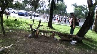 Vecinos cierran avenida 608 por cancelación de baile