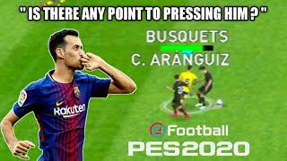 PES 2020 Mobile - Sergio Busquets Goals & Skills | Is There Any Point to Pressing Him?