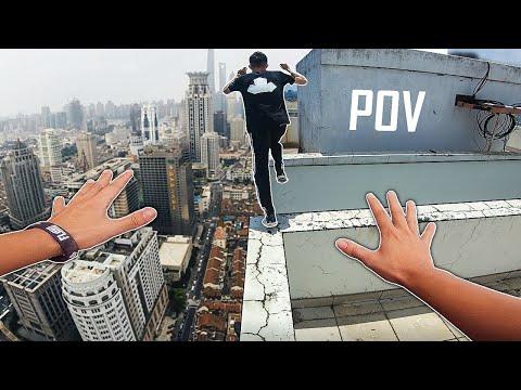 CHẠY ĐI ĐỪNG NHÌN | Crazy Parkour POV Vietnam 2019 | Trung Khon & Bao Upin