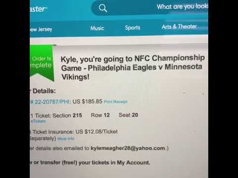 Extremely Blessed/NFC Title Game Here I Come!