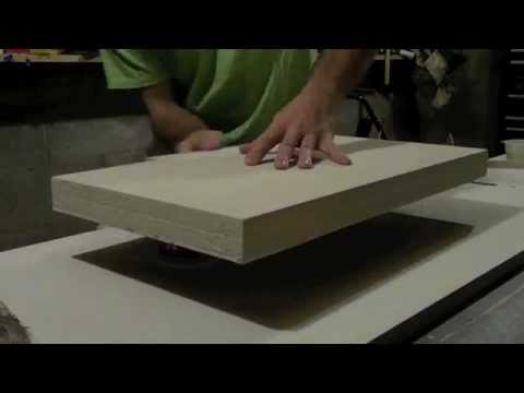 pallet countertop epoxy how to build countertops do it yourself easy and quick youtube