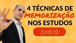Memorização: 4 Técnicas Simples e Eficientes de MEMORIZAÇÃO NOS ESTUDOS thumbnail