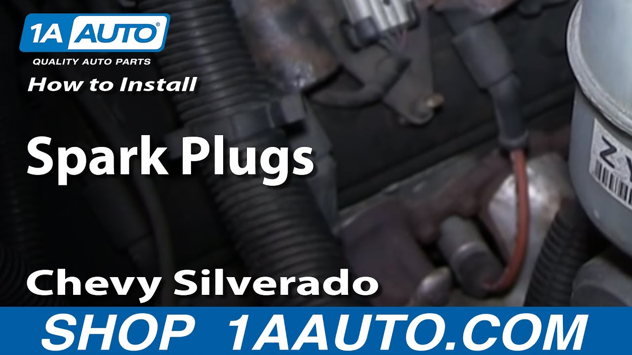 maxresdefault how to install replace spark plugs chevy silverado gmc sierra 4 8l 2200 SFI Chevy Spark Plug at bayanpartner.co