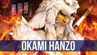 Overwatch: Okami Hanzo Gameplay! (Quick Match)