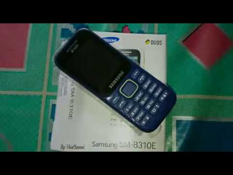 Unboxing Samsung Duos Sm B310e Raja Music Player Youtube