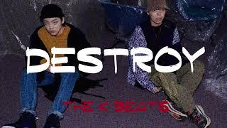 """🔥[무료비트] 키드밀리 X 노엘 X 캐쉬뱅 X 수원시티보이 강한 트랩 타입 비트 """"Destroy"""" (Prod. The K Beats)"""