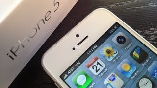 New iPhone 5 LTE 4G Speed Test Review(Apple iPhone 5 Unboxing! http://www.youtube.com/watch?v=D_0JKtjYpx4 New iPhone 5 4G LTE Speed Test Review http://bit.ly/SJuTl6 Follow me on Twitter for ..., 2012-09-21T20:59:17.000Z)