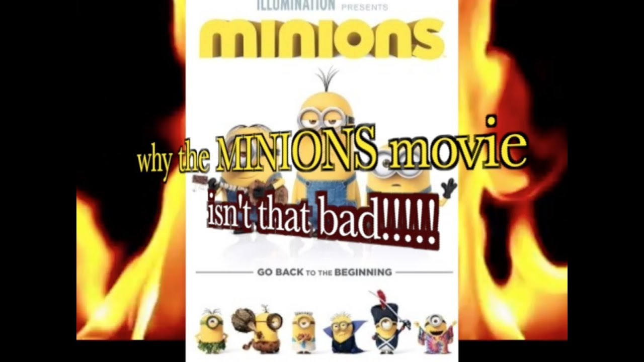 T0P TEN REAS0NS WHY THE MINIONS MOVIE ISNT BAD!!! - Like or Comment if you'd like. And Subscribe if you'd like to see more awful videos like this.