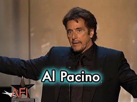 Al Pacino Accepts the AFI Life Achievement Award in 2007