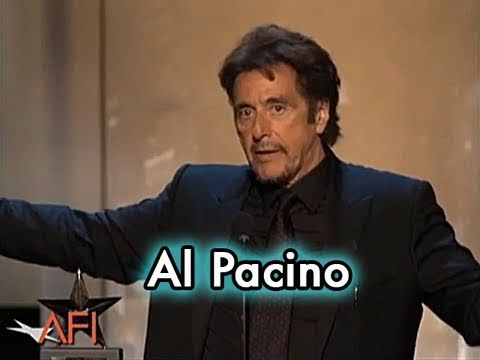 Al Pacino Accepts the AFI Life Achievement Award in 2007 להורדה