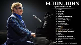 Download Elton John Collection - Elton John Greatest Hits Full Album - Best Rock Ballads 80's, 90's