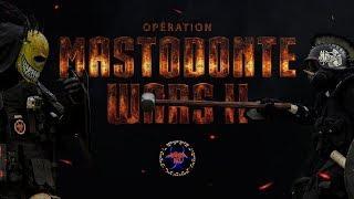 MASTODONTE WARS II (30 MASTOS, 1ère MONDIALE) - AREA 51