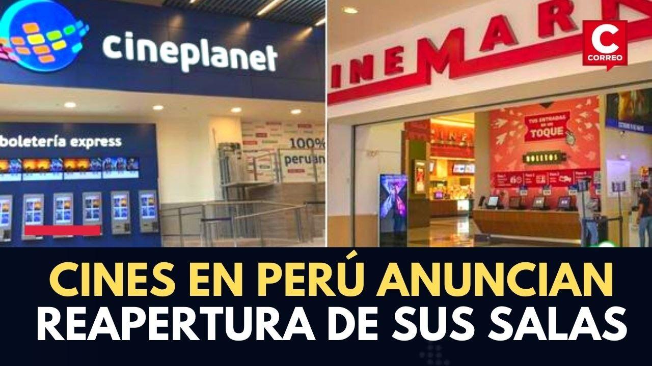 Coronavirus en Perú: Cines anuncian la reapertura oficial de sus salas para este jueves