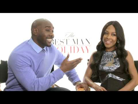 Thumbnail: Best Man Holiday Interviews: Taye Diggs, Nia Long, Morris Chestnut, Sanaa Lathan and More