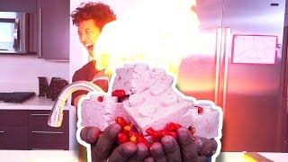 DIY 1000 Degrees Hot Cheetos Lego SOAP!!! ITS...
