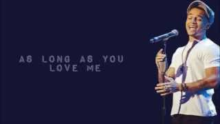 Aston Merrygold- As Long as You Love Me, Locked Out of Heaven and Mirrors (Lyrics)