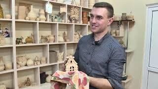 Как обучают гончарному ремеслу в Молотковичской школе-интернате