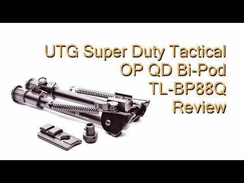 UTG Super Duty Tactical OP QD Bi-Pod