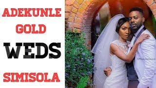 ADEKUNLE GOLD AND SIMI'S WEDDING