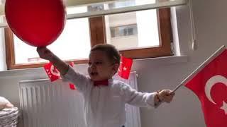 Ediz bebek ile 23 Nisan Kutlamasi:))