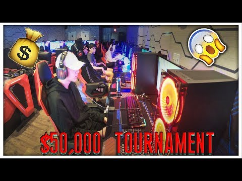 We Played In A $50,000 Fortnite LAN Tournament! (First Ever Vlog!)