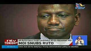 DP Ruto fails to get audience of ex-president Moi