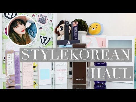 STYLEKOREAN Haul & First Impressions ♥   STYLEKOREAN K-Beauty Gurus 2017 Competition