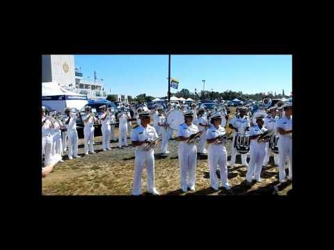 Naval Academy D&B before 2014 Navy Vs. WKU football game