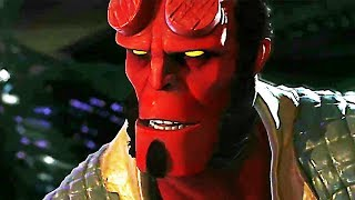 INJUSTICE 2 Hellboy Gameplay (2017) PS4 / Xbox One / PC